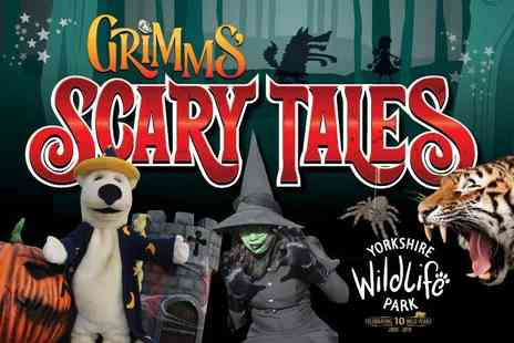 Yorkshire Wildlife Park - Two adult tickets to the Grimms Scary Tales experience - Save 50%