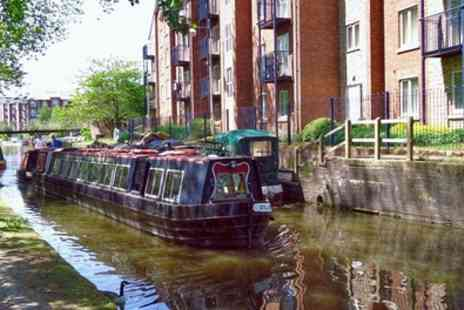 Tameside Canal Boat Trust - Canal Narrowboat Trip for Two or a Family of Four - Save 35%
