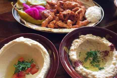 The Cinnamon Stick - Selection of 7 or 14 Mezze Dishes with Optional Wine for Two or Four - Save 31%