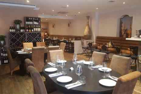 Mazzat - Two or Three Course Lebanese Meal for Two - Save 48%