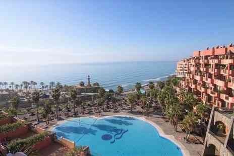 Holiday World Resort Benalmadena - Four Star Family Friendly Seafront Hotel with Stylish Beach Club for two - Save 80%