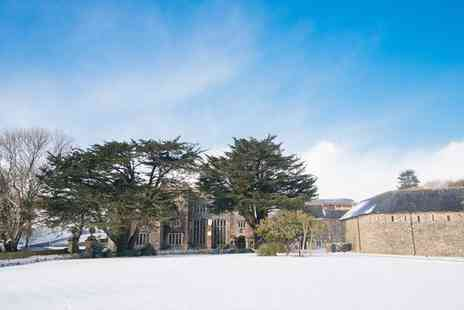 Boringdon Hall Hotel & Spa - Five Star Traditional 16th Century Manor with Indulgent Spa for two - Save 31%