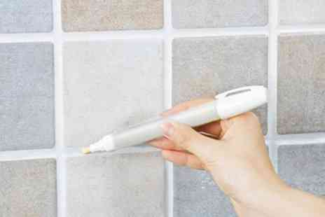 Groupon Goods Global GmbH - Up to Eight Whitening Grout and Tile Markers - Save 83%