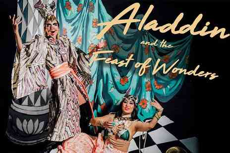 The Vaults - General admission ticket to Aladdin and The Feast Of Wonders with five course dining - Save 35%