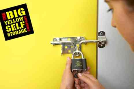 Big Yellow Self Storage - £20 or £50 to Spend on Storage Space - Save 75%