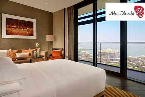 Grand Hyatt Abu Dhabi Hotel - Five Star Awe Inspiring Design in West Corniche with Louvre Tickets - Save 54%