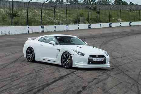 Supercar Drive Days - Three lap Nissan GTR supercar experience or a BMW i8 supercar experience - Save 0%