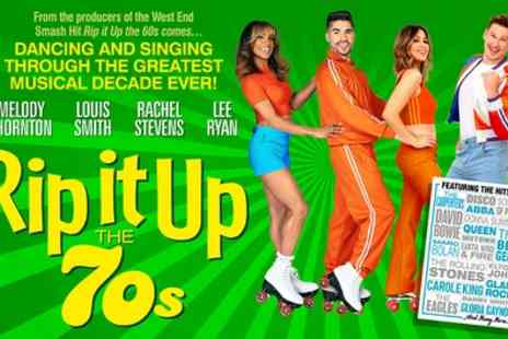 Rip It Up the 70s - One ticket from 21st September To 2nd November - Save 49%