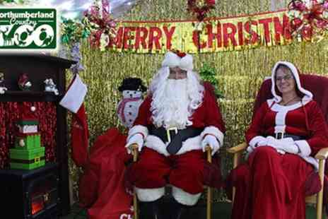Northumberland Country Zoo - Kids Zoo and Santas Grotto Entry with Gift - Save 11%