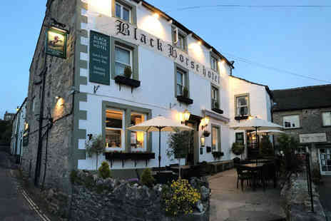 The Black Horse Hotel - Two nights Yorkshire Dales stay with two course dinner on the first night, breakfast and 1pm late check out - Save 54%