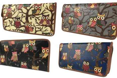 Groupon Goods Global - Womens Pearl Fashion Owls Glitter Elegant Wallet Purse - Save 92%