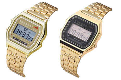 Spezzeee - Mens Digital Wrist Watch Choose from 2 Colours - Save 80%