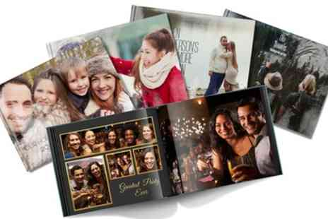 Printerpix - Up to Three A4 or A5 Hardcover Photobooks with Up to 60 Pages - Save 71%