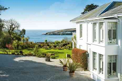 The Rosevine Hotel - Cornwall coast escape with dinner and cream tea - Save 0%