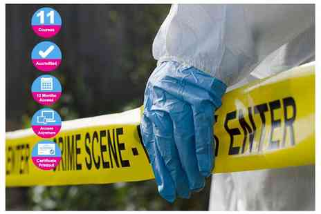 International Open Academy - Accredited forensic science course - Save 90%