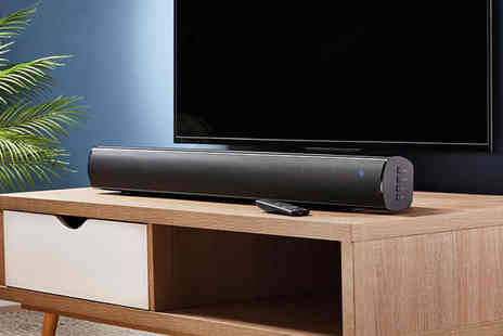 CJ Offers - Zennox 80W sound bar with a built in subwoofer - Save 45%