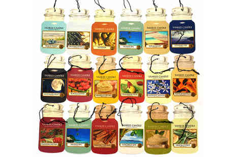 Yankee Bundles - 9 assorted Yankee Candle jar air fresheners - Save 33%