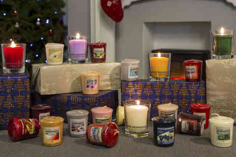 Yankee Bundles - 40 assorted Yankee Candle home inspiration votives including festive fragrances - Save 38%