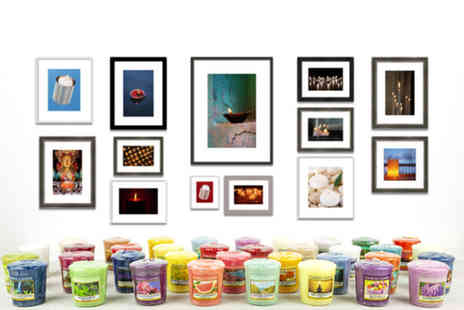 Yankee Bundles - 30 assorted Yankee Candle votive samplers - Save 55%