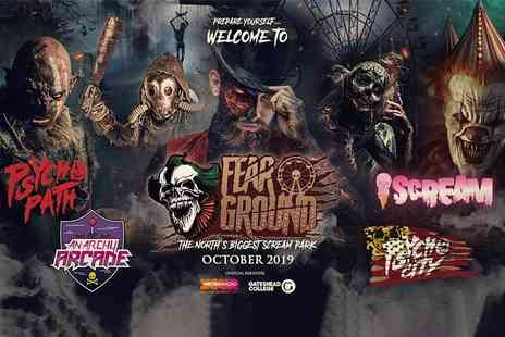 PSYCHO PATH - Entry for one person Fear Ground, held across 700 acres from 11th To 29th October 2019 - Save 22%
