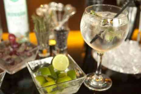 The Black Horse - Four Craft Gins and Three Fever Tree Tonics with Bread and Olives for Up to Four - Save 50%