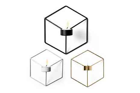 Spezzeee - Wall mounted candle holder choose from three colours - Save 73%