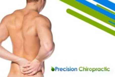 Precision Chiropractic - Two Chiropractic Treatments Plus Consultation and Spinal Screening - Save 87%