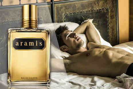 Wowcher Direct - 110 ml Aramis eau de toilette spray for him - Save 71%