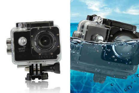 CJ Offers - Zennox 1080P HD WiFi action camera - Save 80%