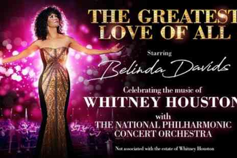 The Greatest Love of All - One best available ticket from 10th To 21st October - Save 40%