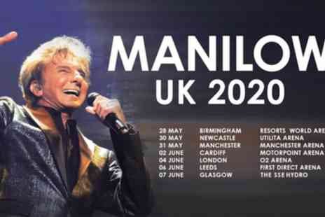 Barry Manilow - One Price Level 2 or 3 ticket from 28th May To 7th June - Save 10%