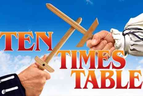 Theatre Royal Windsor - Tickets to see Ten Times Table - Save 0%