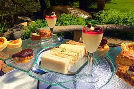 Foxfields Country Hotel - Sparkling Afternoon Tea with Spa Access for Up to Four - Save 47%