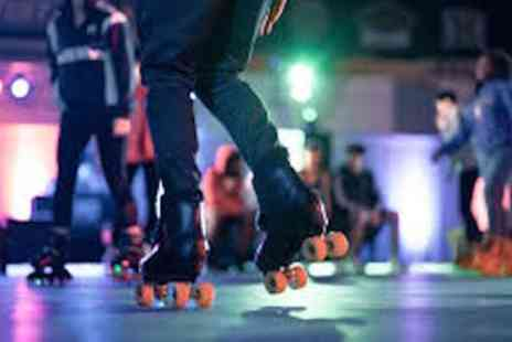 Earnies - One Hour Roller Skating Session with Skate Hire for Up to Four - Save 40%
