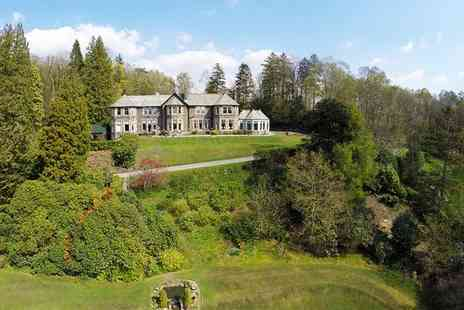 Merewood Country House Hotel - Four Star Lakeside Retreat in the Cumbrian Countryside for two - Save 44%