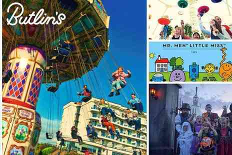 Butlins - Roll Back to 2017 Prices for October Half Term Peak Day Passes - Save 40%
