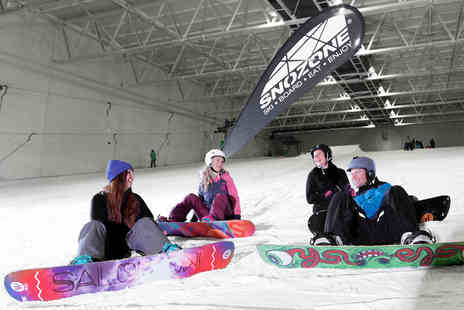 Skizone UK - Private ski or snowboard lesson for up to six people on a weekday - Save 40%