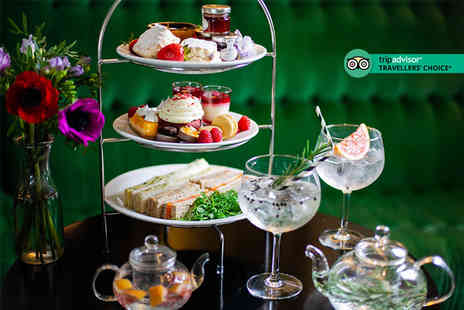 Crowne Plaza Battersea - G & Tea afternoon tea for two people with thermal spa experience and voucher - Save 63%