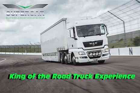 Supercar Drive Days - Truck driving experience for one person with a 15mins driving experience with the TGX Articulated Truck - Save 61%