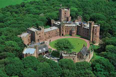 Peckforton Castle - Three course dining for two people with a glass of Prosecco each - Save 41%