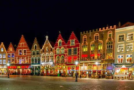 Abbey Tours - Bruges Christmas market day trip for one person including coach transfers - Save 62%