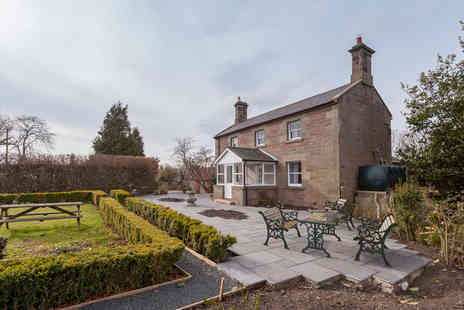 Lucker Mill house - Overnight Northumberland stay for two people with breakfast - Save 0%