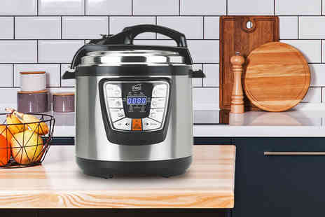 Neo Deals - Six litre electric pressure cooker - Save 56%