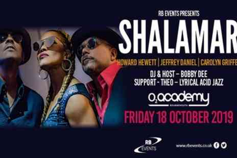 Shalamar - One standing ticket on 18 October - Save 24%