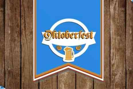 Oktoberfest 2019 - One standing or seated ticket from 19th To 26th October - Save 10%