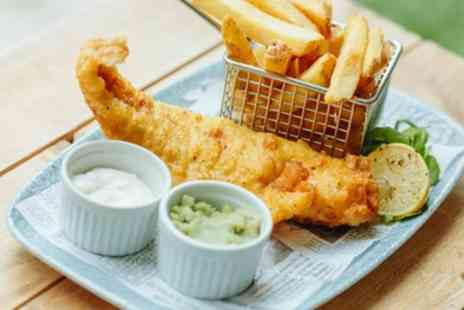 Hilton York - Fish and Chips Meal for One, Two or Four - Save 34%