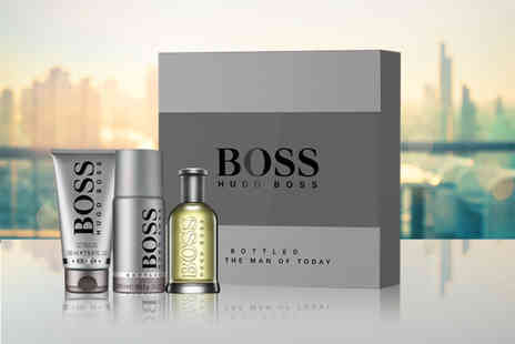 Wowcher Direct - Hugo Boss Boss bottled 100ml eau de toilette gift set - Save 21%