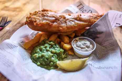 The Jolly Sailor - Three course British dining for two people - Save 59%