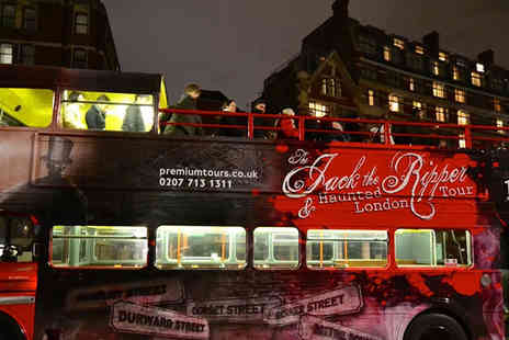 Premium Tours - Jack the Ripper, haunted London and Sherlock Holmes tour - Save 50%