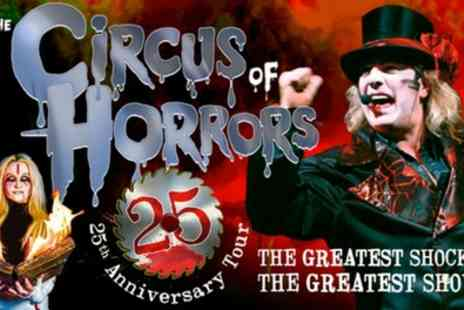 The Circus of Horrors - One ticket from 13th November 2019 To 1st March 2020 - Save 0%